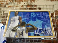 Michael Kidd-Gilchrist Signed Thick Poster Lexington, 40508
