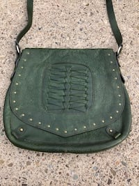 Hayden Harnett Green Leather Crossbody Bag Cranberry Twp, 16066