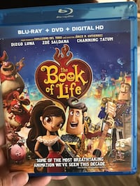 The Book of Life DVD movie case