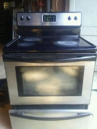 black and gray induction range oven Knoxville, 37920