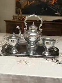 Vintage Collectible Stainless Steel Tea Service Toronto, M9C 3S9