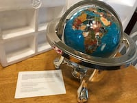 Gemstone Globe Hampton, 23669