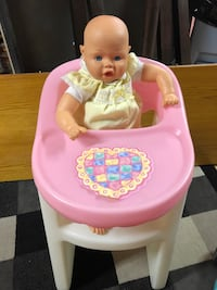 Little Tikes Doll High Chair Edmonton