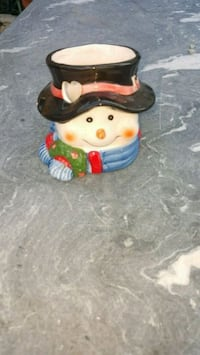 A snowman candle holder firm price Pico Rivera, 90660
