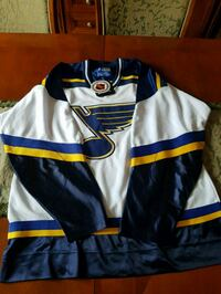 ST. LOUIS BLUES JERSEY ADULT SIZE L  Toronto, M9N 3X8
