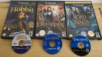 GameCube LOTR Collection Lord of the Rings Montreal-West, H4X 2G1