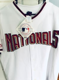Sewn / Stitched Stephen Strasburg Nationals Jersey Stafford, 22556