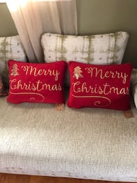 To Christmas pillows handmade velvet 43 km