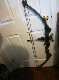 black and gray compound bow Welland, L3B 5N5