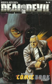 Deal with the Devil by Mike S. Miller  Comic # 4 In good condition Pick-up in Newmarket Newmarket