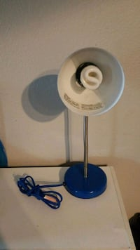 white and blue desk lamp Dallas, 75206