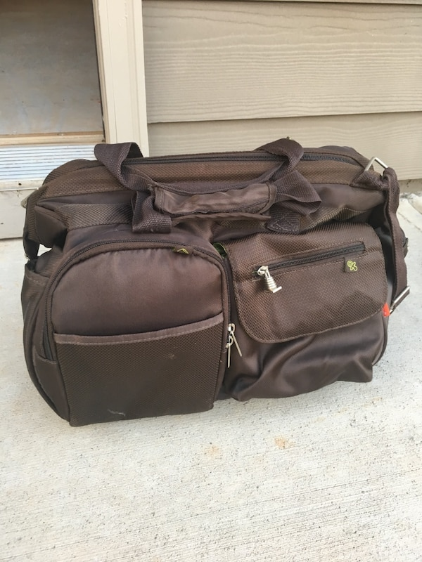 2a1f24434 Used Baby diaper bag with insulated pocket for bottles for sale in Canton
