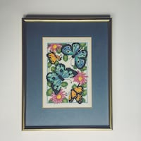 Vintage Cross-stitch art frame  Toronto, M5G 2L3