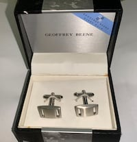 Geoffrey Beene cufflinks S.S New York, 11205
