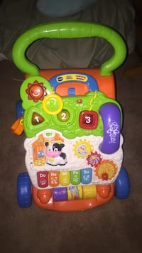 baby's multicolored activity walker Marshall, 20115