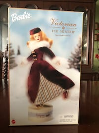 "2000 Barbie ""Victorian Ice Skater"" W/.Musical Box Base Toronto, M1P 4S5"