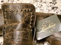 Lucchese knew high boots
