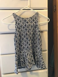 women's black and white sleeveless dress Charleston
