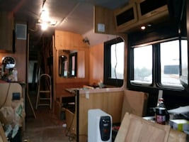 motorhome/tour bus interior repairs