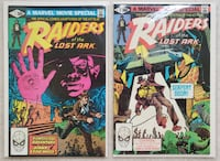 Raiders of the Lost Ark comic set Mount Airy