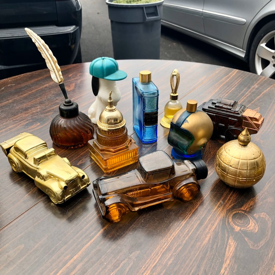 Vintage Avon Perfume / After Shave Bottles