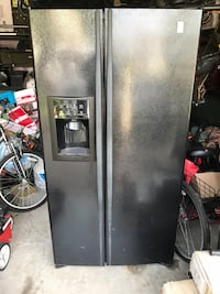 G E Hotpoint side by side refrigerator just refurbished in July   Fort Worth, 76028