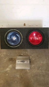 Audio speakers and amp Chesapeake, 23325