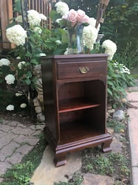 Antique French country night stand (Gibbard) Toronto, M9B 3C5