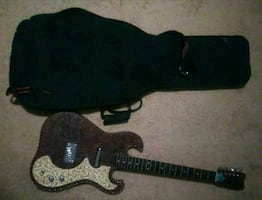 Price Drop.Molly Hatchet Guitar W/Can. Fender Case