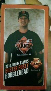2014 Junior Giants Buster Posey bobblehead box