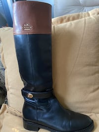 Coach leather boots size 6 Los Angeles, 90034