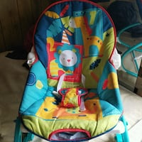 baby's blue and multicolored bouncer Columbus, 31903