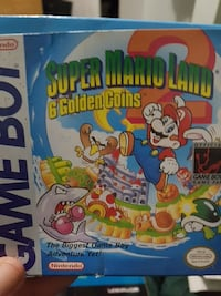 Empty Box for Super Mario Land 2 for Game Boy