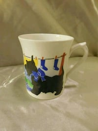 white and blue ceramic mug Martinsburg, 25404