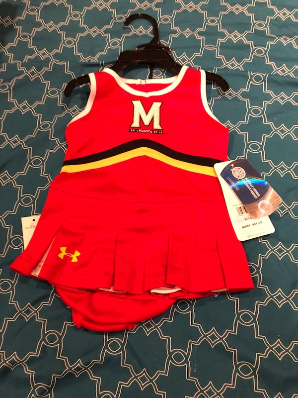 Maryland Terrapins 9-12month girls outfit