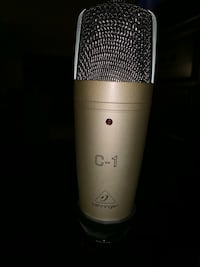 Beringer C1 large diaphragm condenser microphone with stand Colorado Springs, 80909