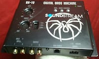 black Soundstream BX-10 digital bass machine