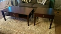 Coffee table and two side tables.  Ellicott City, 21043