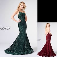 New With Tags Size 12 Mon Cheri Formal Gown $115 Indianapolis, 46204
