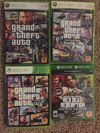 Red Dead Redemption, GTA 4, 5, and more for xbox Fort Worth, 76039