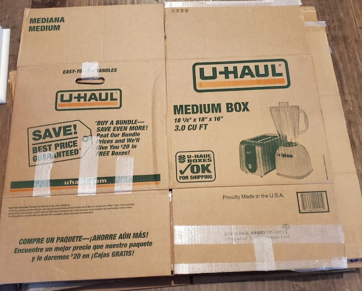 Moving Boxes--used once bd78517e-1793-49b6-94fb-5d5dc0dab10a