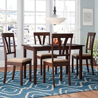 Wayfair Donald 5-Piece Dining Room set 42 km