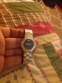 Mens MOVADO Swiss watch , new battery, works great ,used it only few times, Stainless steel and gold , sapphire crystal, no scratches Garden Grove, 92843