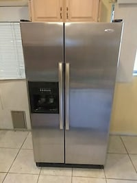 stainless steel side-by-side refrigerator with dis Sanford, 32773