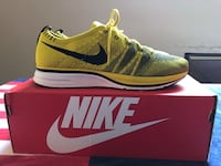 Nike Flyknit Trainers Citron US 8.5 Men (10 Women's)