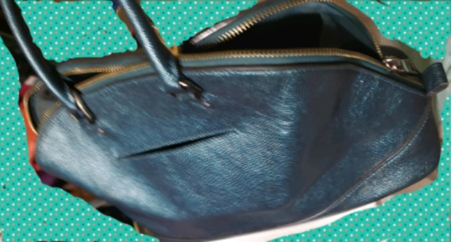NEW Ocean color COACH purse 0192b872-53ca-4544-84c2-fcae431e96ae