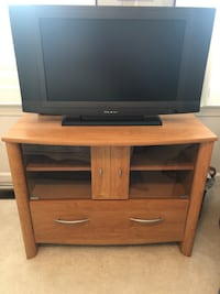 TV/VCR Entertainment Cabinet