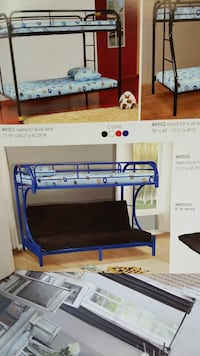 Metal twin futon bunk bed four different colors Inglewood, 90304