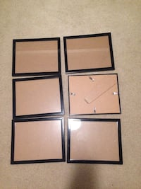 Set of 6 document/picture frames