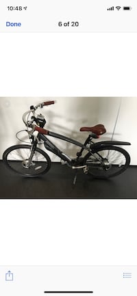 black and gray hardtail mountain bike Egham, TW20 9BP